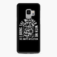 Load image into Gallery viewer, The Amity Affliction The Amity Affliction Samsung Galaxy S9 Case, Black Rubber Case | Webluence.com