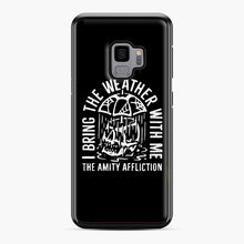 Load image into Gallery viewer, The Amity Affliction The Amity Affliction Samsung Galaxy S9 Case, Black Plastic Case | Webluence.com
