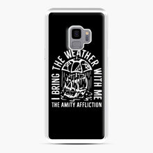 Load image into Gallery viewer, The Amity Affliction The Amity Affliction Samsung Galaxy S9 Case, White Plastic Case | Webluence.com