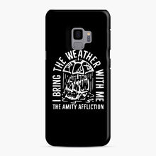 Load image into Gallery viewer, The Amity Affliction The Amity Affliction Samsung Galaxy S9 Case, Snap Case | Webluence.com