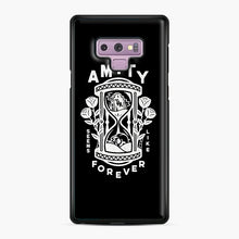 Load image into Gallery viewer, The Amity Affliction Throw Square Samsung Galaxy Note 9 Case, Black Plastic Case | Webluence.com