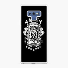 Load image into Gallery viewer, The Amity Affliction Throw Square Samsung Galaxy Note 9 Case, White Rubber Case | Webluence.com