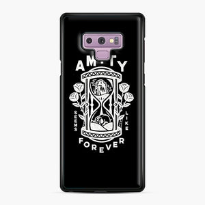The Amity Affliction Throw Square Samsung Galaxy Note 9 Case, Black Plastic Case | Webluence.com