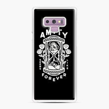 Load image into Gallery viewer, The Amity Affliction Throw Square Samsung Galaxy Note 9 Case, White Plastic Case | Webluence.com