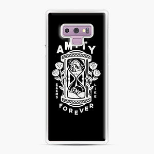 The Amity Affliction Throw Square Samsung Galaxy Note 9 Case, White Plastic Case | Webluence.com