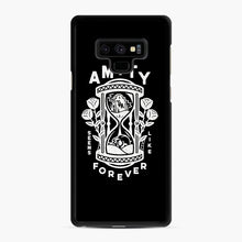 Load image into Gallery viewer, The Amity Affliction Throw Square Samsung Galaxy Note 9 Case, Black Rubber Case | Webluence.com