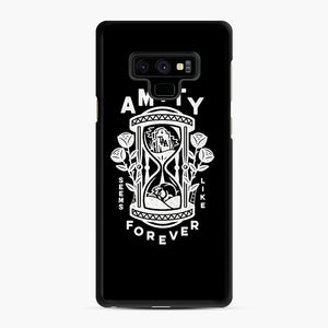 The Amity Affliction Throw Square Samsung Galaxy Note 9 Case, Black Rubber Case | Webluence.com