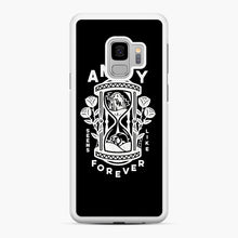 Load image into Gallery viewer, The Amity Affliction Throw Square Samsung Galaxy S9 Case, White Rubber Case | Webluence.com