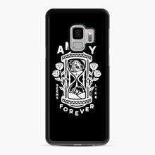 Load image into Gallery viewer, The Amity Affliction Throw Square Samsung Galaxy S9 Case, Black Rubber Case | Webluence.com