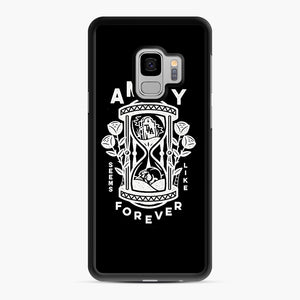 The Amity Affliction Throw Square Samsung Galaxy S9 Case, Black Rubber Case | Webluence.com