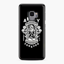 Load image into Gallery viewer, The Amity Affliction Throw Square Samsung Galaxy S9 Case, Black Plastic Case | Webluence.com