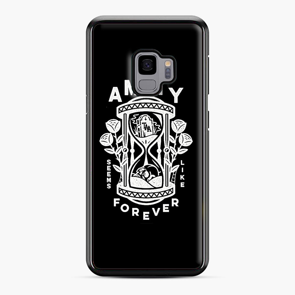 The Amity Affliction Throw Square Samsung Galaxy S9 Case, Black Plastic Case | Webluence.com