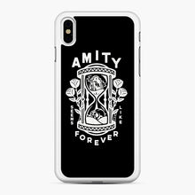 Load image into Gallery viewer, The Amity Affliction Throw Square iPhone XS Max Case, White Rubber Case | Webluence.com