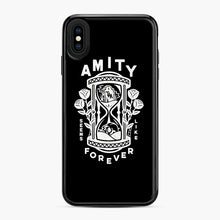 Load image into Gallery viewer, The Amity Affliction Throw Square iPhone XS Max Case, Black Plastic Case | Webluence.com