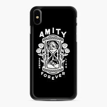 Load image into Gallery viewer, The Amity Affliction Throw Square iPhone XS Max Case, Black Rubber Case | Webluence.com