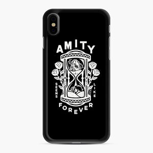 The Amity Affliction Throw Square iPhone XS Max Case, Black Rubber Case | Webluence.com