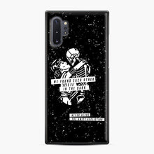 Load image into Gallery viewer, The Amity Affliction We Found Each Other in The Dark Samsung Galaxy Note 10 Plus Case, Black Plastic Case | Webluence.com