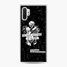 Load image into Gallery viewer, The Amity Affliction We Found Each Other in The Dark Samsung Galaxy Note 10 Plus Case, White Plastic Case | Webluence.com