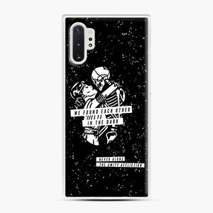 The Amity Affliction We Found Each Other in The Dark Samsung Galaxy Note 10 Plus Case, White Plastic Case | Webluence.com