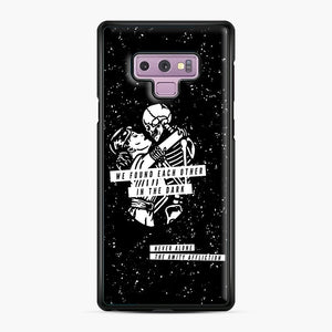 The Amity Affliction We Found Each Other in The Dark Samsung Galaxy Note 9 Case, Black Plastic Case | Webluence.com