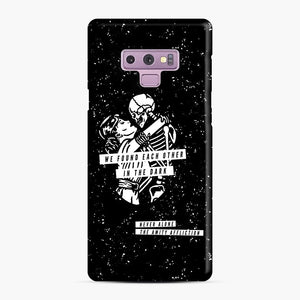 The Amity Affliction We Found Each Other in The Dark Samsung Galaxy Note 9 Case, Snap Case | Webluence.com
