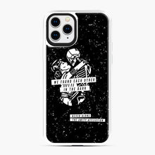 Load image into Gallery viewer, The Amity Affliction We Found Each Other in The Dark iPhone 11 Pro Case, White Plastic Case | Webluence.com