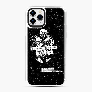 The Amity Affliction We Found Each Other in The Dark iPhone 11 Pro Case, White Plastic Case | Webluence.com