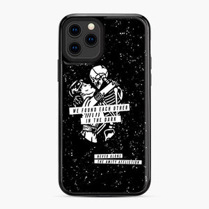 The Amity Affliction We Found Each Other in The Dark iPhone 11 Pro Case, Black Plastic Case | Webluence.com