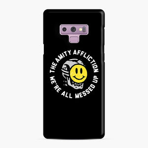 The Amity Affliction We're All Messed Up Samsung Galaxy Note 9 Case, Snap Case | Webluence.com