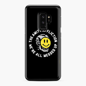The Amity Affliction We're All Messed Up Samsung Galaxy S9 Plus Case, Black Plastic Case | Webluence.com