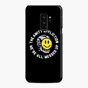 The Amity Affliction We're All Messed Up Samsung Galaxy S9 Plus Case, Snap Case | Webluence.com