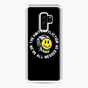 The Amity Affliction We're All Messed Up Samsung Galaxy S9 Plus Case, White Plastic Case | Webluence.com
