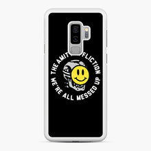 Load image into Gallery viewer, The Amity Affliction We're All Messed Up Samsung Galaxy S9 Plus Case, White Rubber Case | Webluence.com