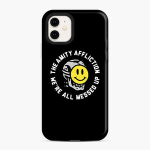 The Amity Affliction We're All Messed Up iPhone 11 Case, Snap Case | Webluence.com