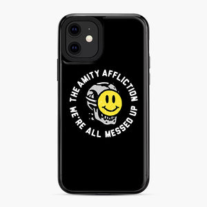 The Amity Affliction We're All Messed Up iPhone 11 Case, Black Plastic Case | Webluence.com
