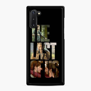 The Last Of Us Part 2 Ii Joel Ellie And Dina Samsung Galaxy Note 10 Case, Black Rubber Case