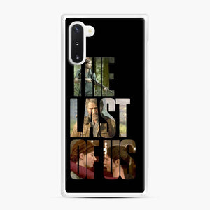 The Last Of Us Part 2 Ii Joel Ellie And Dina Samsung Galaxy Note 10 Case, White Rubber Case