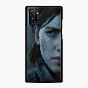 The Last Of Us Part Ii 17 Samsung Galaxy Note 10 Plus Case, Black Rubber Case