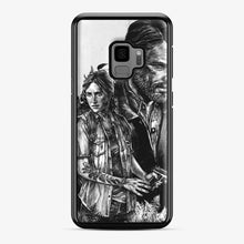 Load image into Gallery viewer, The Last Of Us Part Ii Ellie And Joel Samsung Galaxy S9 Case, Black Plastic Case
