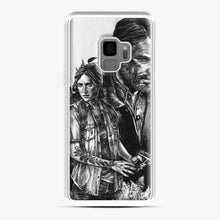 Load image into Gallery viewer, The Last Of Us Part Ii Ellie And Joel Samsung Galaxy S9 Case, White Plastic Case