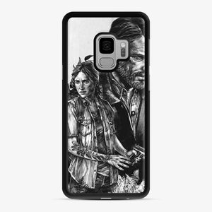 The Last Of Us Part Ii Ellie And Joel Samsung Galaxy S9 Case, Black Rubber Case