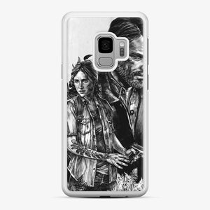 The Last Of Us Part Ii Ellie And Joel Samsung Galaxy S9 Case, White Rubber Case