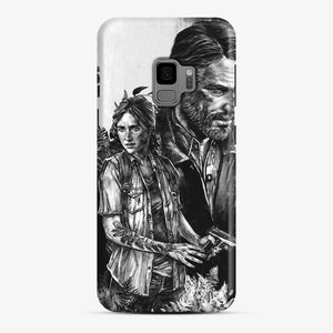 The Last Of Us Part Ii Ellie And Joel Samsung Galaxy S9 Case, Snap Case