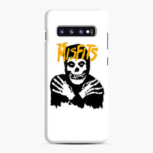Load image into Gallery viewer, The Misfits Skull Yellow Logo Casual Samsung Galaxy S10 Plus Case, Snap Case | Webluence.com