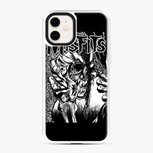 Load image into Gallery viewer, The Misfits evil eye iPhone 11 Case, White Plastic Case | Webluence.com