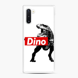 The Supreme of All Dinosaurs Samsung Galaxy Note 10 Case, White Rubber Case | Webluence.com