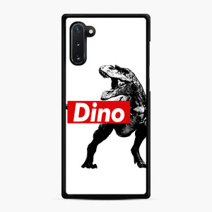 The Supreme of All Dinosaurs Samsung Galaxy Note 10 Case, Black Rubber Case | Webluence.com