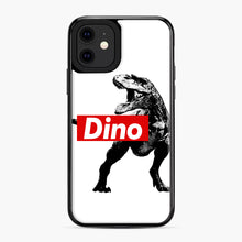 Load image into Gallery viewer, The Supreme of All Dinosaurs iPhone 11 Case, Black Plastic Case | Webluence.com
