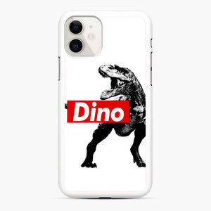 The Supreme of All Dinosaurs iPhone 11 Case, White Rubber Case | Webluence.com