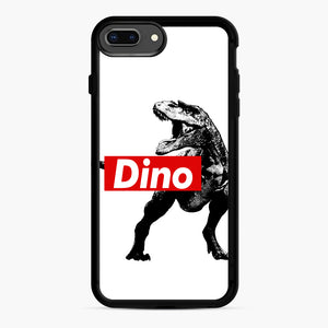 The Supreme of All Dinosaurs iPhone 7,8 Plus Case, Black Rubber Case | Webluence.com